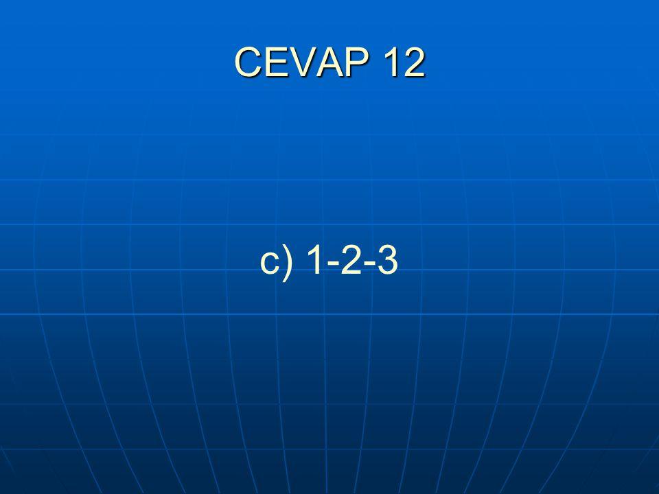 CEVAP 12 c) 1-2-3