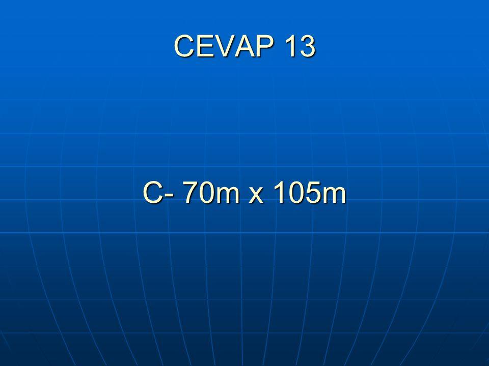 CEVAP 13 C- 70m x 105m