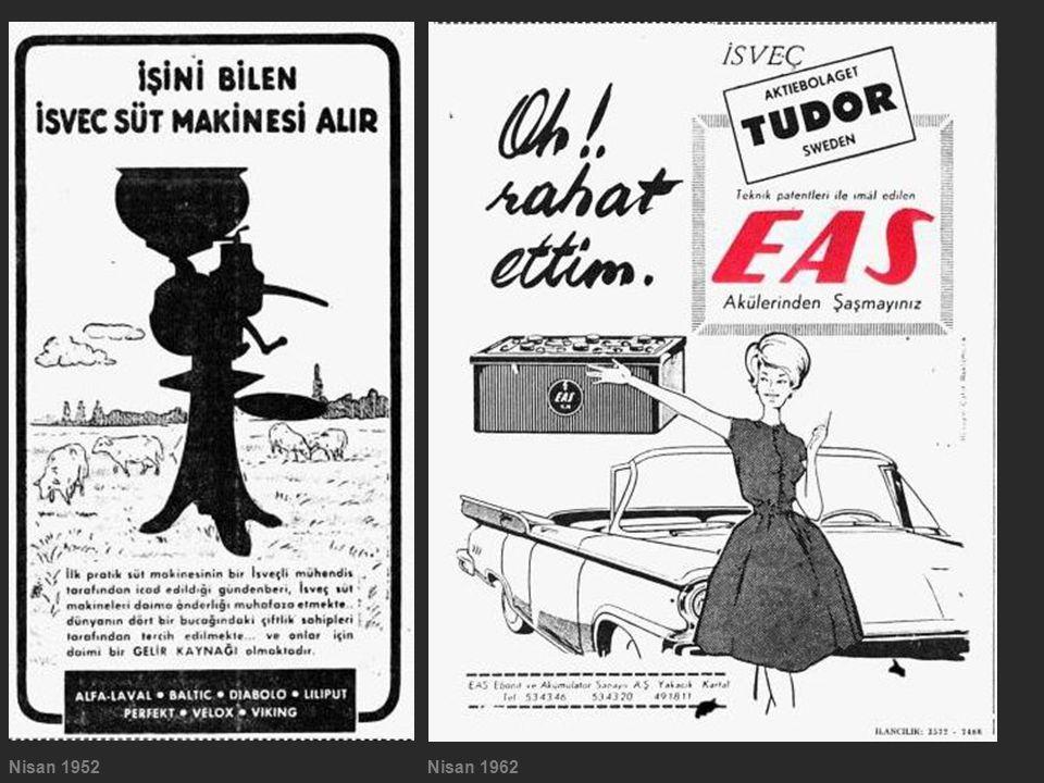 Nisan 1952 Nisan 1962