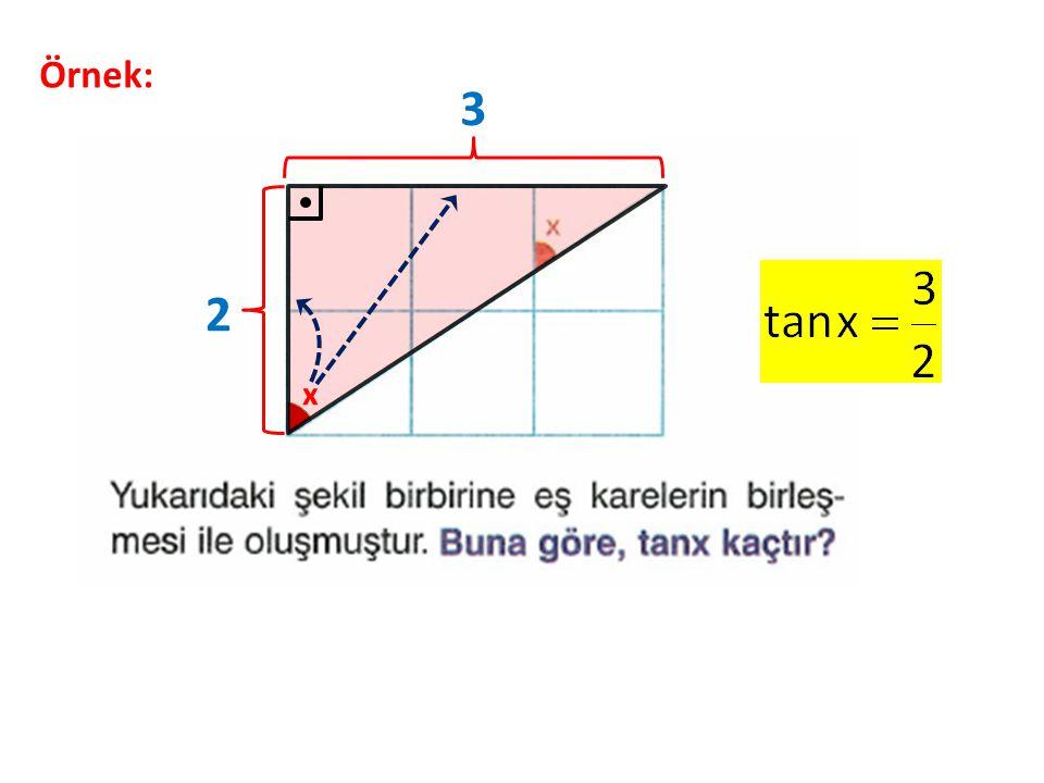 Örnek: x 3 2
