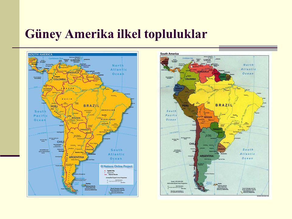 Güney Amerika ilkel topluluklar