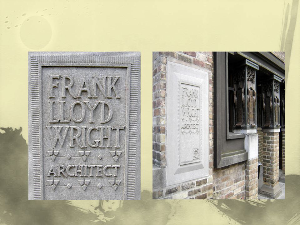 Wright'ın özel konutu ve işyeriydi.Kariyenin 20 yılını geçirdiği bu yapıyı, kendi mimari felsefesinin tohumlarını içeren tasarım kavramlarını oluşturduğu mimari bir laboratuvar olarak kullandı.