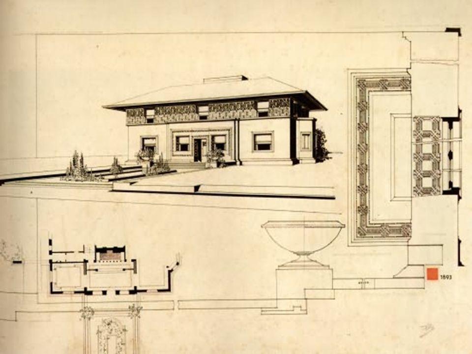 Wright'ın en önmeli erken dönem evlerinden biridir.