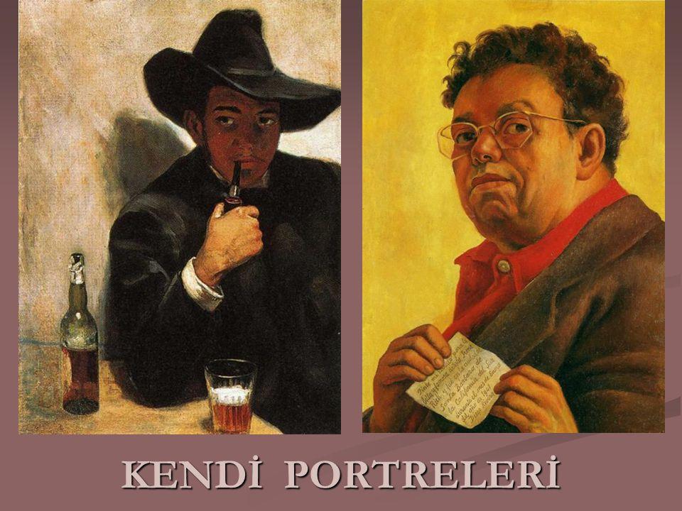 KENDİ PORTRELERİ