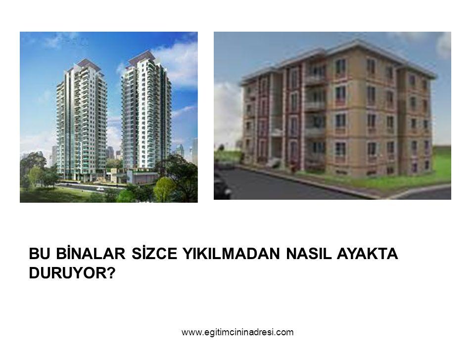 BU BİNALAR SİZCE YIKILMADAN NASIL AYAKTA DURUYOR? www.egitimcininadresi.com