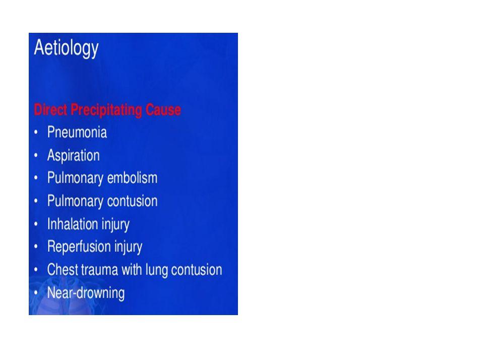 Akciğer biyopsisi Akut hipoksemik solunum yetersizliğinin diğer nedenleri dışlanamıyorsa cerrahi biyopsinin yeri vardır [1,2].