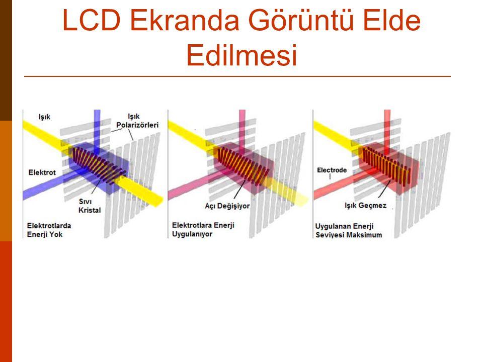 LCD Ekranda Görüntü Elde Edilmesi