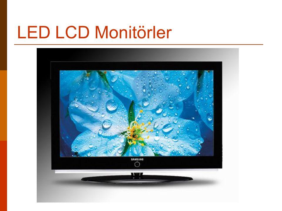 LED LCD Monitörler