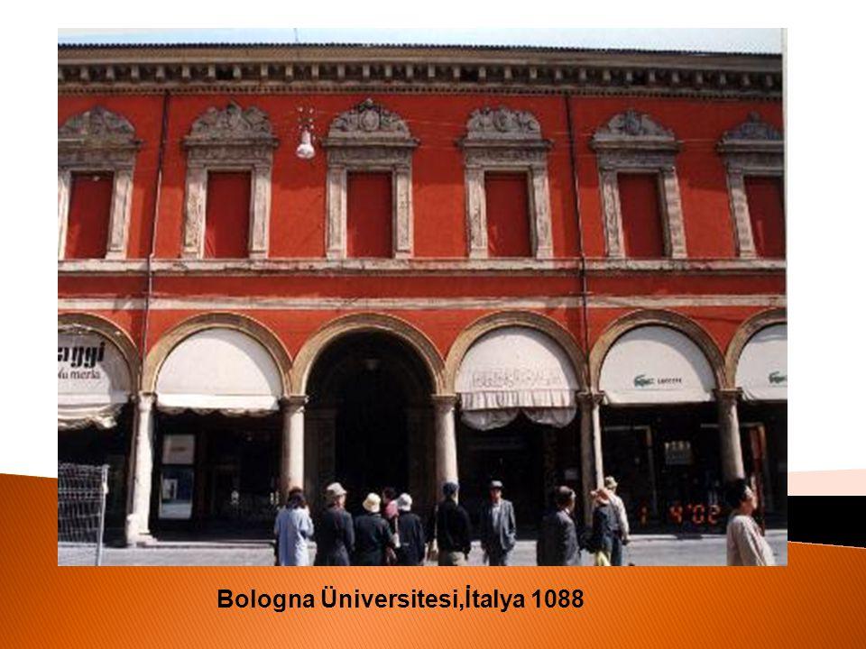 Bologna Üniversitesi,İtalya 1088