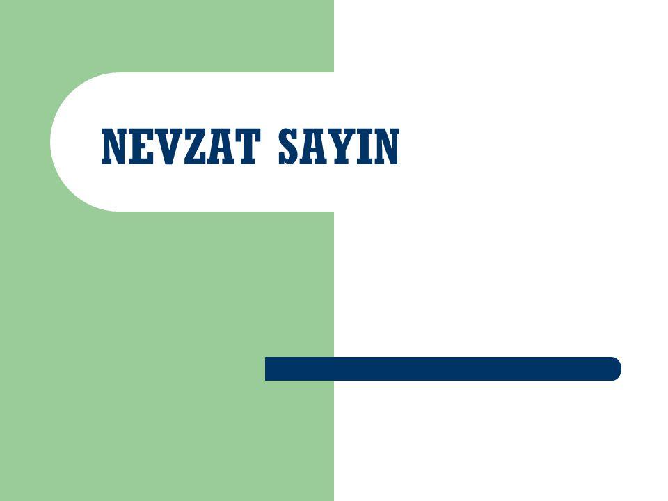 NEVZAT SAYIN