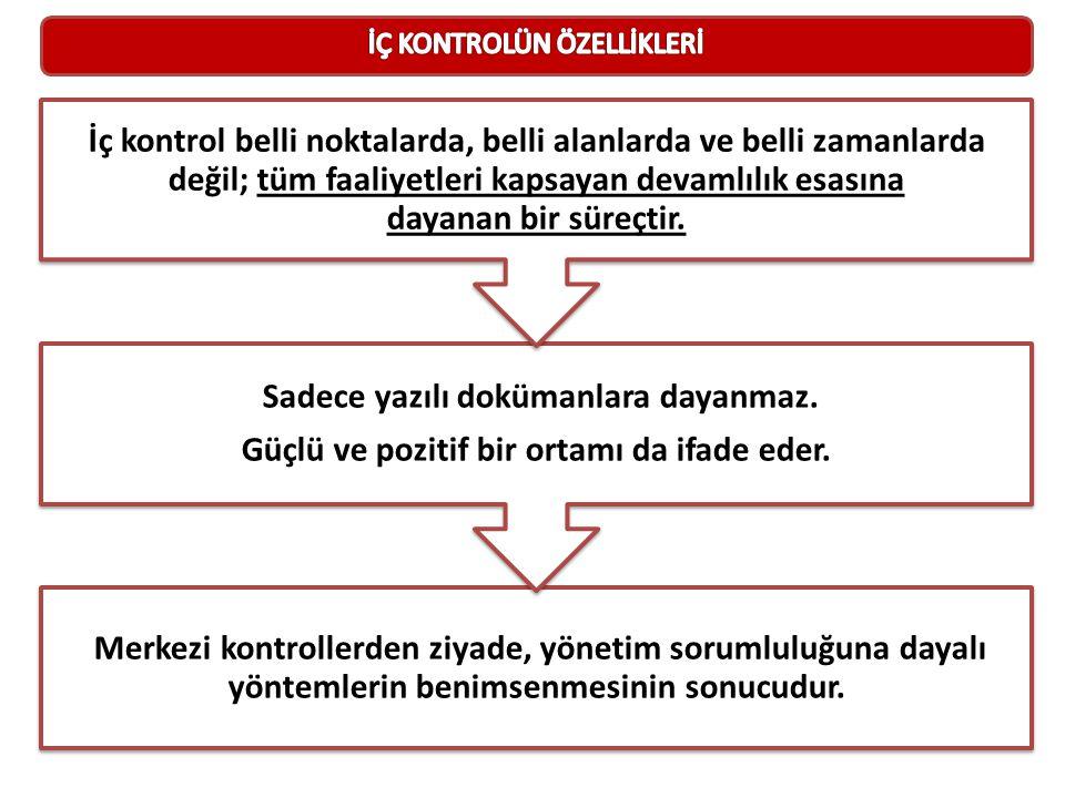 Merkezi kontrollerden ziyade, yönetim sorumluluğuna dayalı yöntemlerin benimsenmesinin sonucudur.