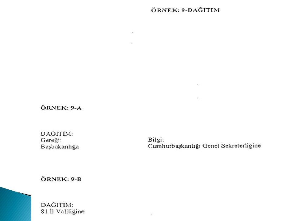EKLER: 1-Genelge (3 sayfa) 2-Rapor (2 sayfa) DAĞITIM: Gereği: Bağımsız Anaokulu Müdürlüklerine İlkokul Müdürlüklerine Ortaokul Müdürlüklerine Ortaöğretim Okul Müdürlüklerine