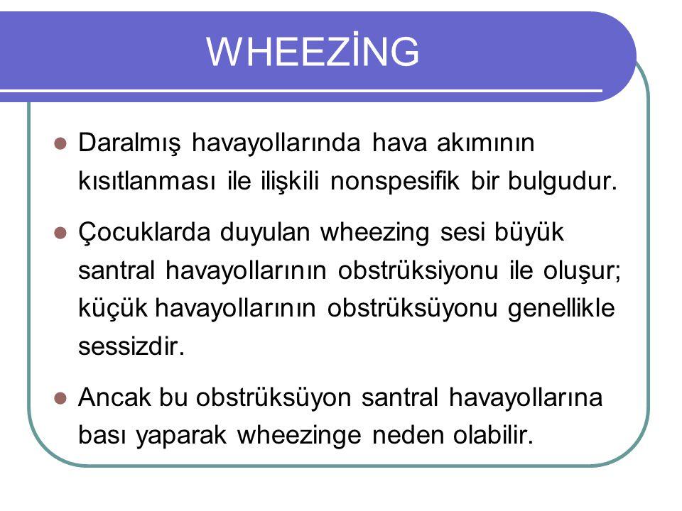 Yaş (Yıl) Wheezing Prevalansı Non-atopik wheezing Geçici erken wheezing IgE-ilişkili wheezing/astım 03611 Martinez FD et al.