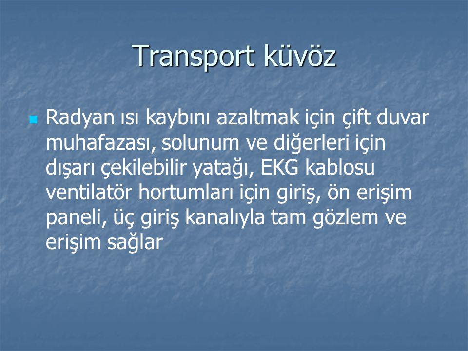 Transport kuvözün sabitlenmesi