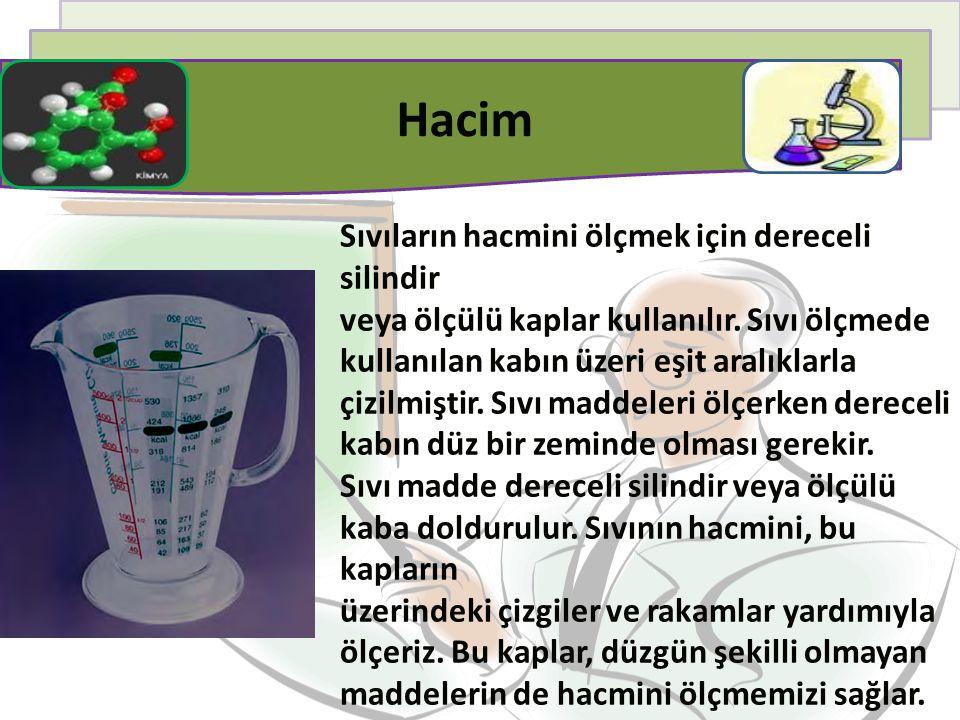 Marketten alınan süt veya meyve suyu paketinin üzerinde 1 litre ya da 1000 mililitre yazmaktadır.