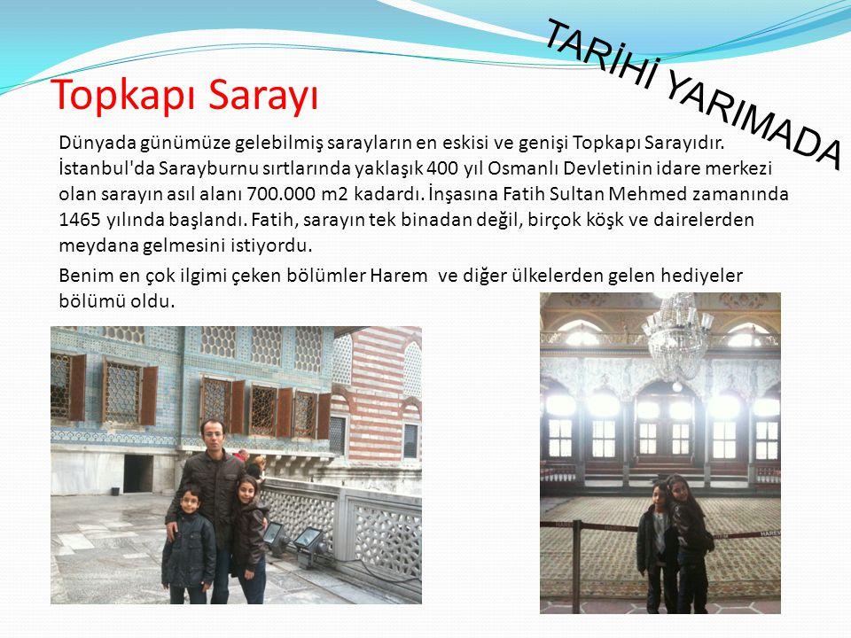 Dünyada günümüze gelebilmiş sarayların en eskisi ve genişi Topkapı Sarayıdır. İstanbul'da Sarayburnu sırtlarında yaklaşık 400 yıl Osmanlı Devletinin i