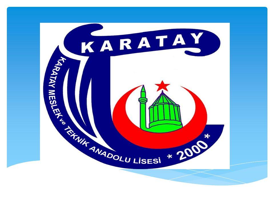 Kurum AdıAlanı Öğretim Şekli Kont enja nı Karatay Aykent Mes.
