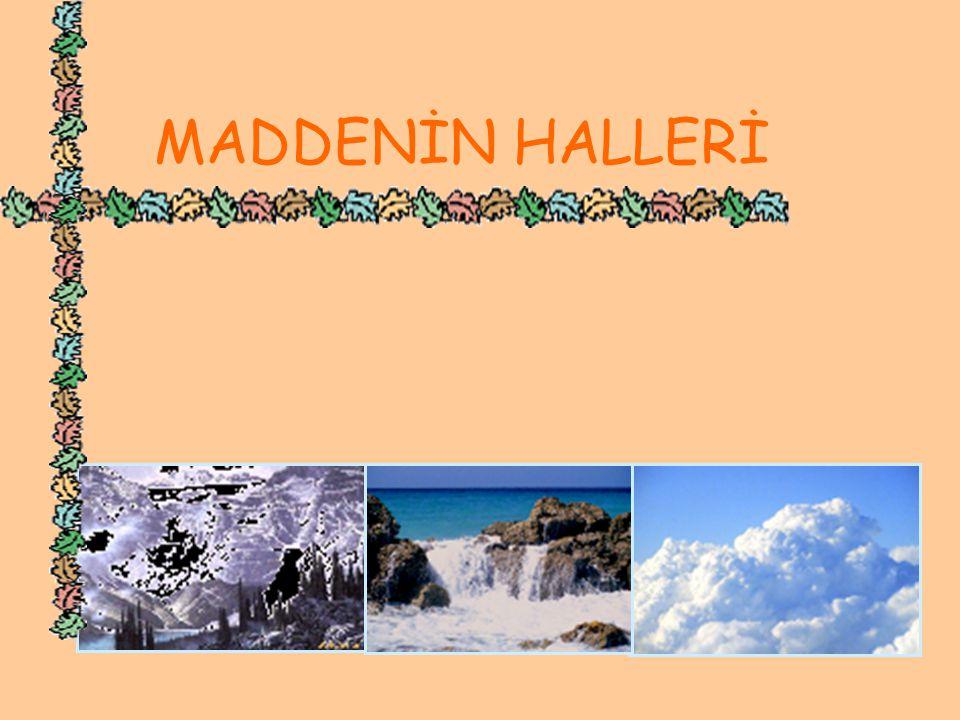 MADDENİN HALLERİ KATISIVIGAZ www.hazirslayt.com 2 MADDENİN HALLERİ MADDENİN HALLERİ