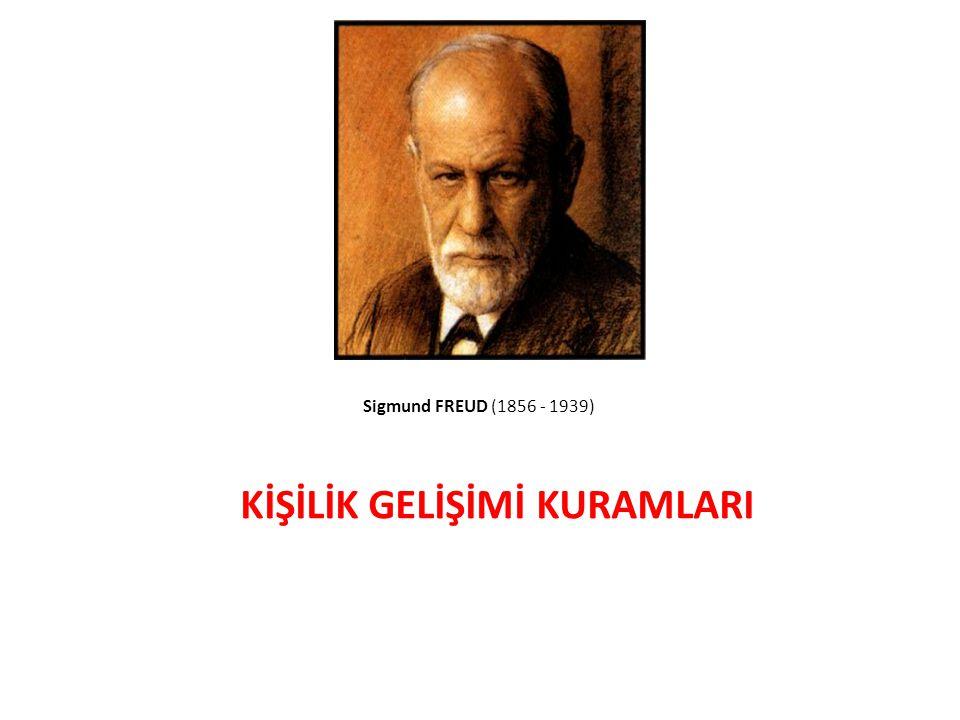 23 Sigmund FREUD (1856 - 1939) KİŞİLİK GELİŞİMİ KURAMLARI