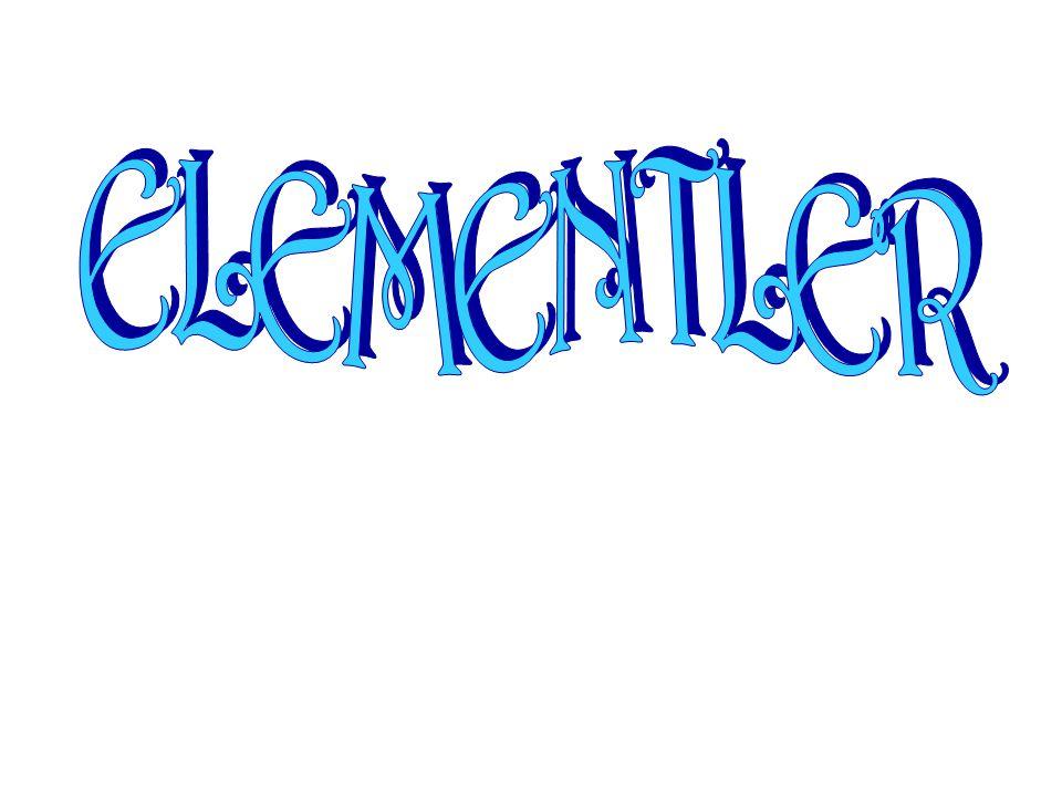 Soygaz Soy gazlar H, He, Ne, Ar, Kr, Xe, Rn Elementleri soy gazdır.