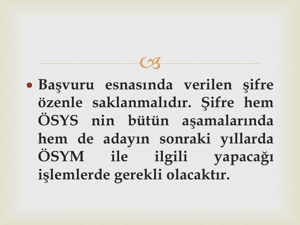 LYS PUAN TÜRLERİ YÜZDELİK ORANLARI Puan türü TÜR.SOS.MAT.FENYABAN.