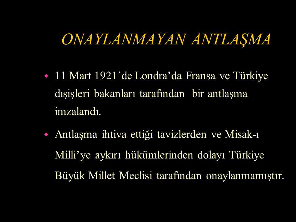 ANTAKYA TÜRKİYE'YE KATILMAK İSTİYOR w 23 Nisan 1920'de Türkiye Büyük Millet Meclisi açılmıştır.