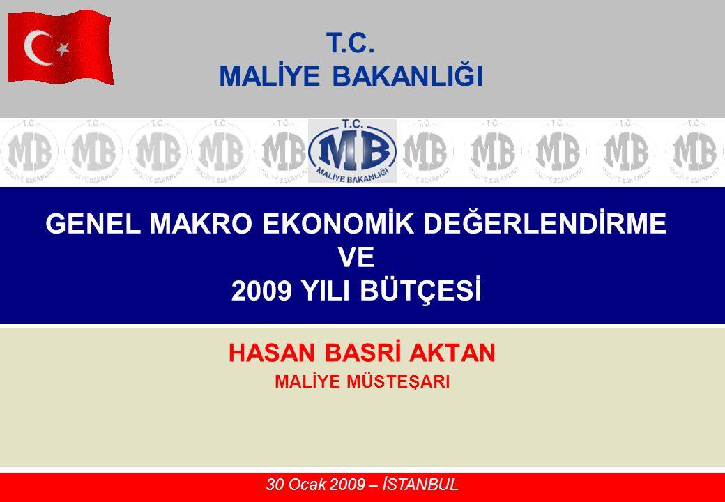 2 Gündem Dünyadaki Son Ekonomik Gelişmeler Türkiye'deki Son Ekonomik Gelişmeler 2008 Yılı Bütçe Gerçekleşmeleri Merkezi Yönetim Bütçe Performansı (2002- 2008) 2009 Yılı Bütçesi Varlık Barışı