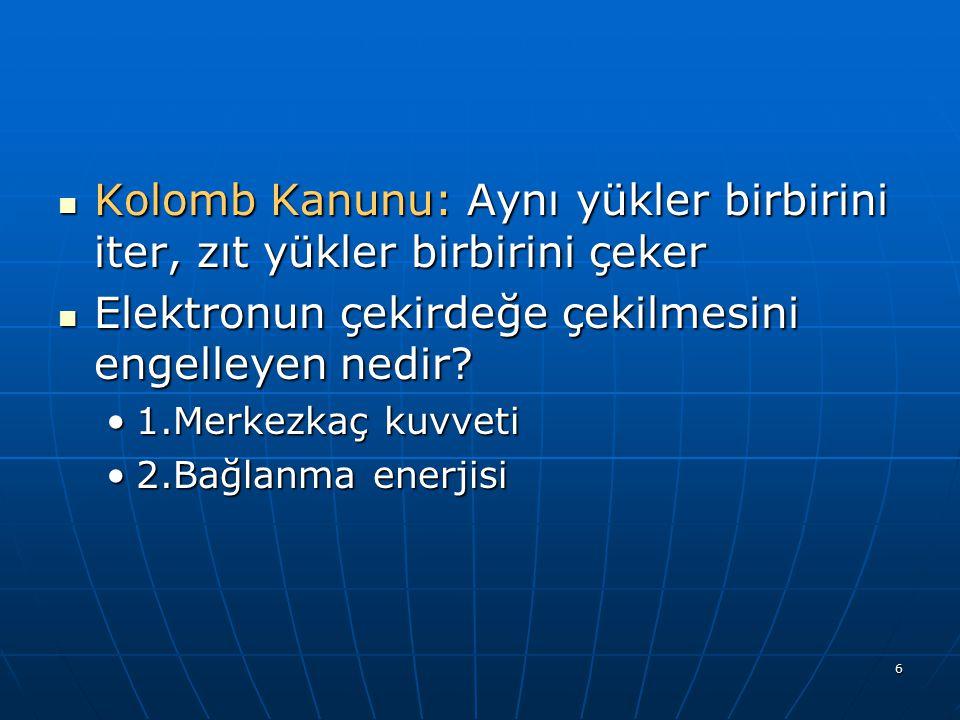 27 İYONİZASYON