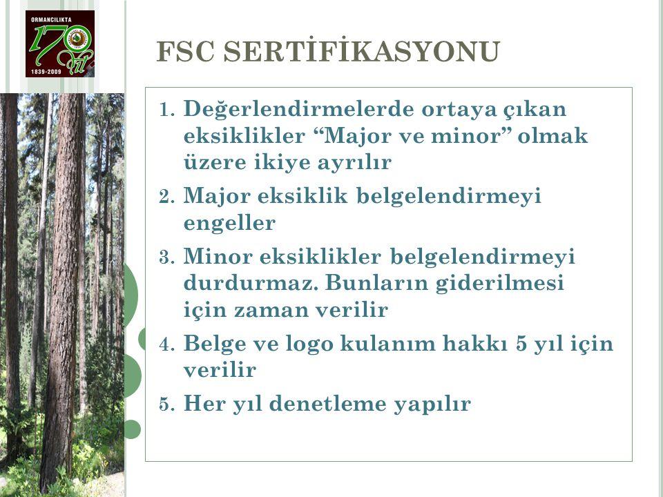 1.Orman yönetimi üretimin bütün çevresel, sosyal ve operasyonel maliyetlerini göz önünde bulundururken ve ormanların ekolojik verimliliğini teminat altına alacak yatırımları yaparken aynı zamanda ekonomik yaşayabilirliği gözetmelidir (3)(3) 2.Orman işletme ve pazarlama faaliyetleri, çeşitli orman ürünlerinin optimal kullanımı ve yöresinde işlenmesini teşvik etmelidir (2)(2) 3.Orman yönetimi istihsal ve sahadaki işleme sırasında oluşan artıkları minimize etmeli ve öbür orman kaynaklarına zarar vermekten kaçınmalıdır (4)(4) 4.Orman yönetimi, bir tek ürüne bağımlılıktan sakınarak yerel ekonomiyi güçlendirmeye ve çeşitlendirmeye çalışmalıdır (2)(2) 5.Orman yönetim uygulamaları, orman hizmetleri ile su havzaları ve balıkçılık gibi orman kaynaklarını tanıyacak, koruyacak ve uygun yerlerde geliştirecektir (3)(3) 6.Orman ürünlerinin hasat oranı kalıcı olarak sürdürülebilecek seviyeleri aşmayacaktır (3)(3) PRENSİP 5.