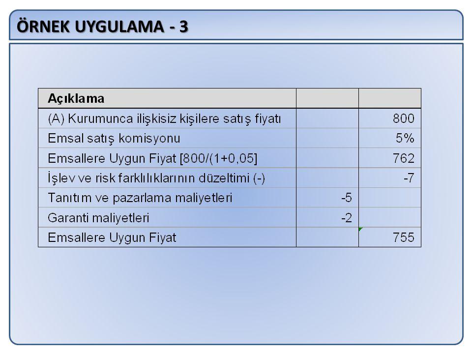 ÖRNEK UYGULAMA - 3