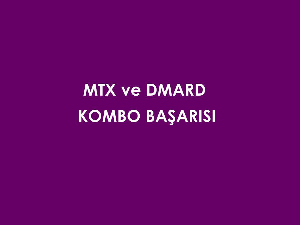 MTX ve DMARD KOMBO BAŞARISI