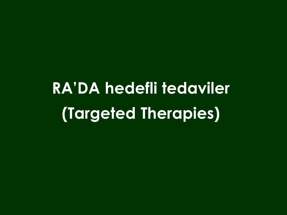 RA'DA hedefli tedaviler (Targeted Therapies)
