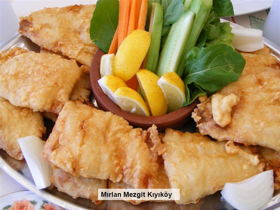 Erzurum'da Cağ Kebabı Köfte Patates Mırlan Mezgit Kıyıköy