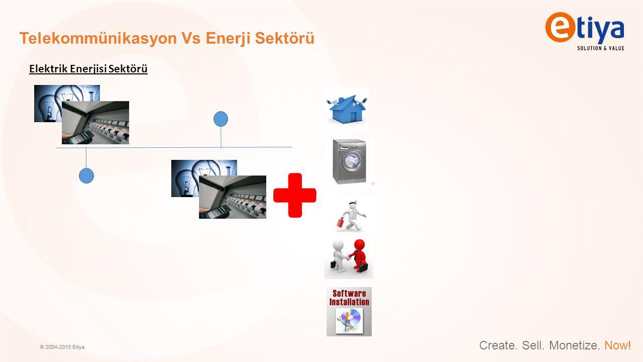 Create. Sell. Monetize. Now! Telekommünikasyon Vs Enerji Sektörü Elektrik Enerjisi Sektörü