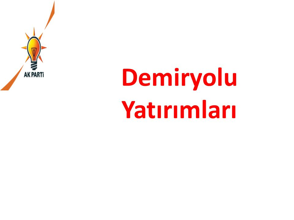 30.Avrupa'nın önemli projelerinden Türkiye'nin de ilk Hızlı Tren Projesi olan, Ankara-Eskişehir arası Hızlı Tren hattı tamamlanarak 2008 yılında bitirildi ve Ankara ile birlikte hızlı tren seferlerinden ilk faydalanan şehir olduk.