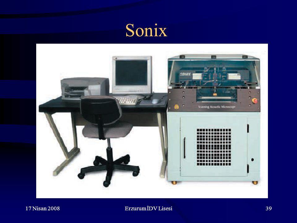 17 Nisan 2008Erzurum İDV Lisesi39 Sonix