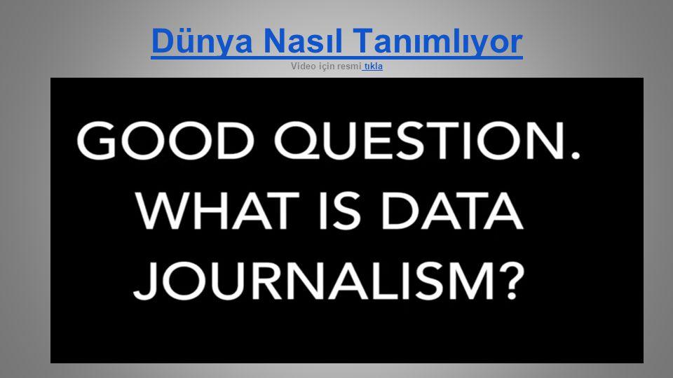 Açık Veri, Açık Toplum, Açık Devlet ve Veri Gazeteciliği Neden Veri gazeteciliği için açıklık önemli.