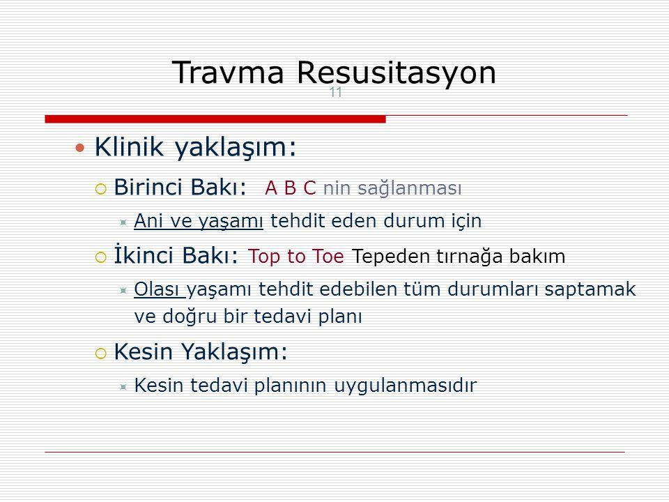 Multitravmada temel ilkeler-2 Tetanoz profilaksisi Ağrının giderilmesi