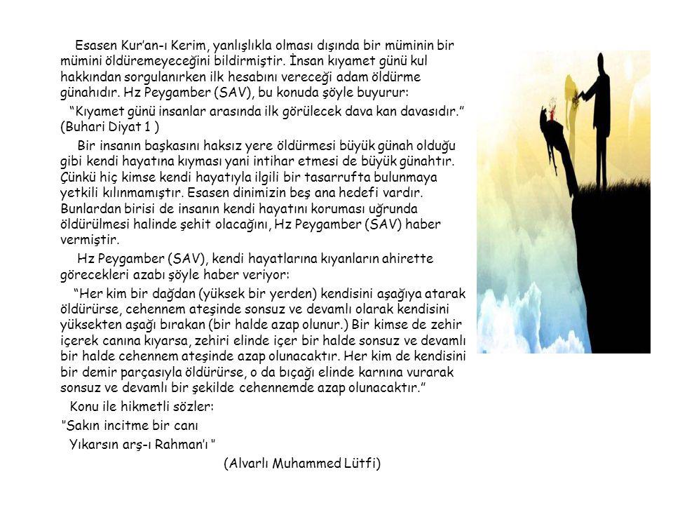 Esasen Kur'an-ı Kerim, yanlışlıkla olması dışında bir müminin bir mümini öldüremeyeceğini bildirmiştir.