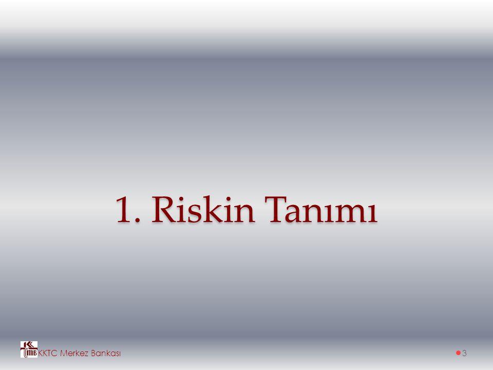 1. Riskin Tanımı KKTC Merkez Bankası3
