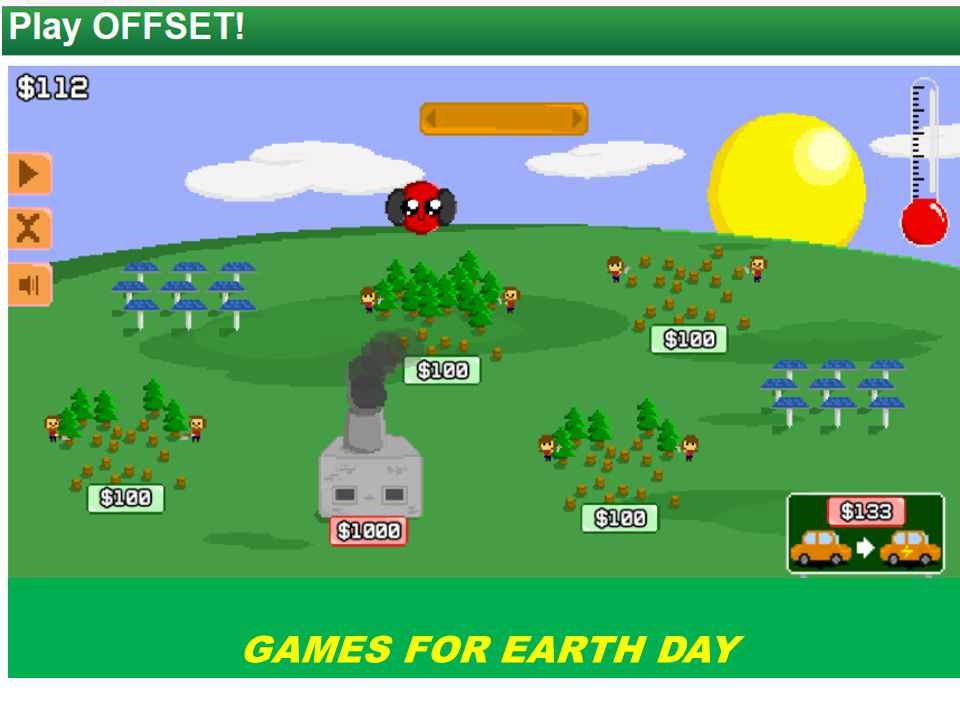 İ GAMES FOR EARTH DAY