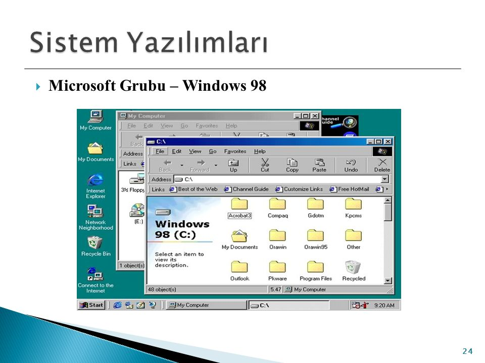  Microsoft Grubu – Windows 98 24