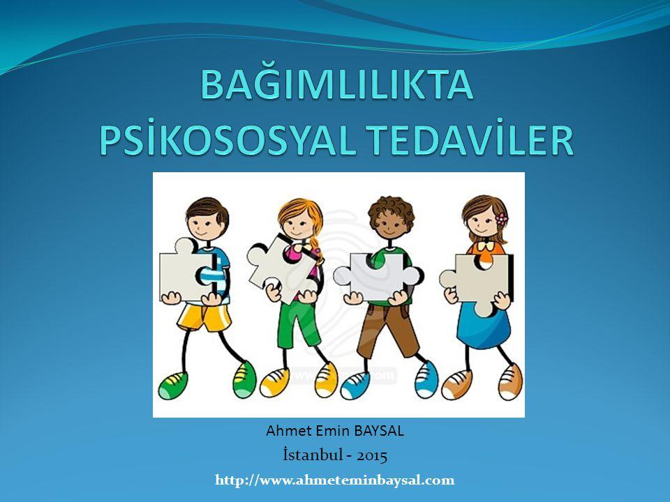 http://www.ahmeteminbaysal.com Ahmet Emin BAYSAL İstanbul - 2015