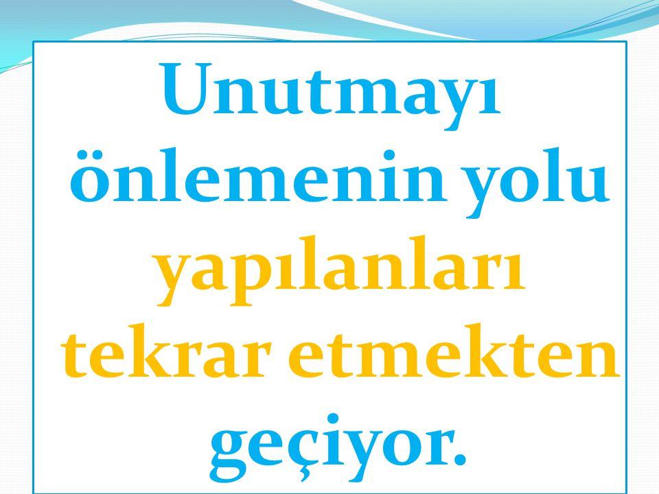 UZMANLAR DİYOR Kİ.