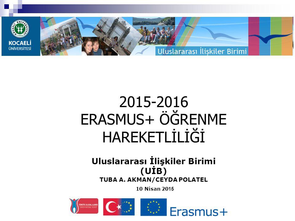 2015-2016 Hibe Ödeme - 1  Değişim öncesi gerekli işlemlerin yapılması ve tüm belgelerin zamanında tamamlanmasından sonra Erasmus hibesinin: % 80'i öğrenci yurt dışına çıkmadan, kalan % 20'si ise yurt dışından döndükten sonra öğrencinin hesabına yatırılır*.
