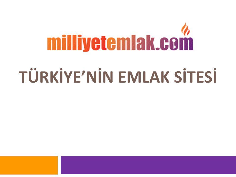 TÜRKİYE'NİN EMLAK SİTESİ