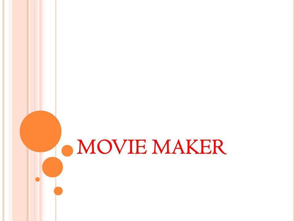 W INDOWS L ıVE M OVıE M AKER Movie Maker ile, bilgisayarınızda yer alan fotoğraf ve videolarınızı kullanarak, bunlar üzerinde düzenlemeler, değişiklikler yapabilir, müzik dosyaları ekleyebilir, mikrofon ile ses kaydı yapabilir ve bu fotoğraf, video ve sesleri kullanarak çeşitli filmler yapabilirsiniz.
