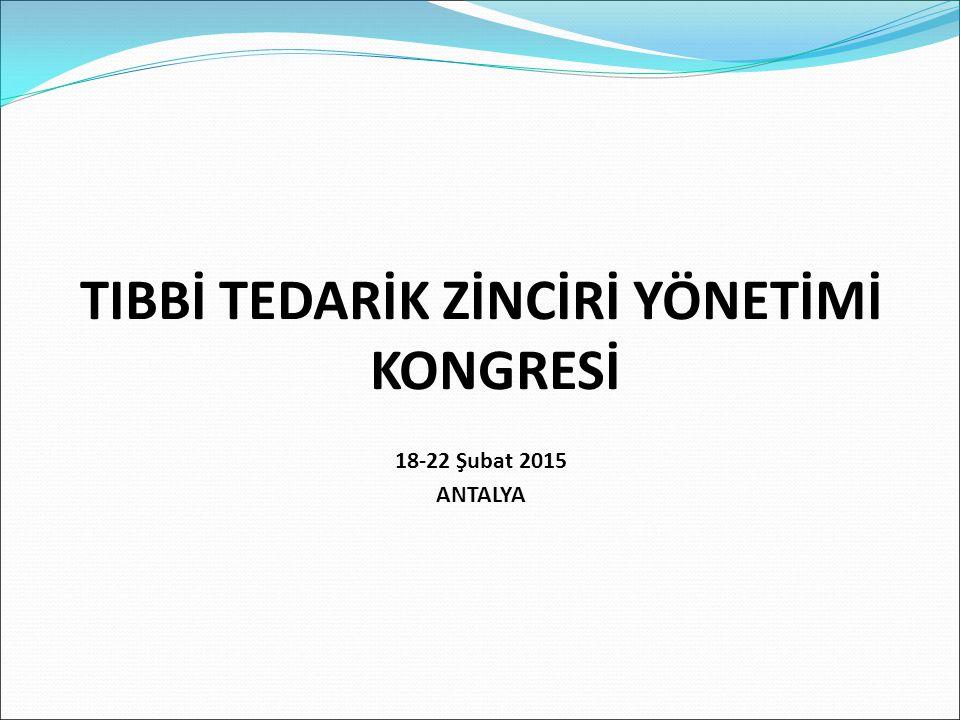 - SGK ve Maliye Bakanlığını temsili kongreye daha çok katkı sağlardı.