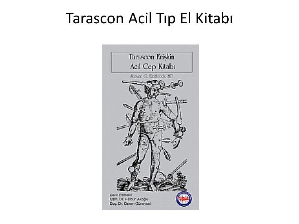 Tarascon Acil Tıp El Kitabı