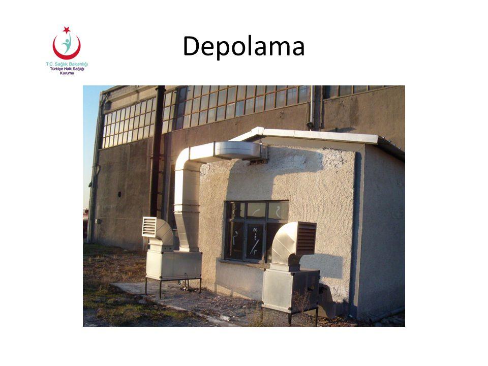 Kimyasal madde dökülme ve sızmalarına karşı gerekli engelleyici malzeme ve uygun Kişisel Koruyucu Donanımlar bulunmalıdır.